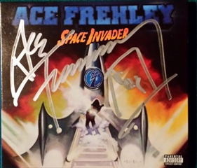 Ace signed CD