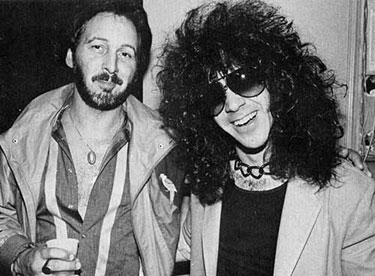 Eric & Peter Criss backstage