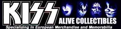 Kiss Alive Collectibles from Sweden