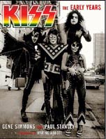 Kiss The Early Years book